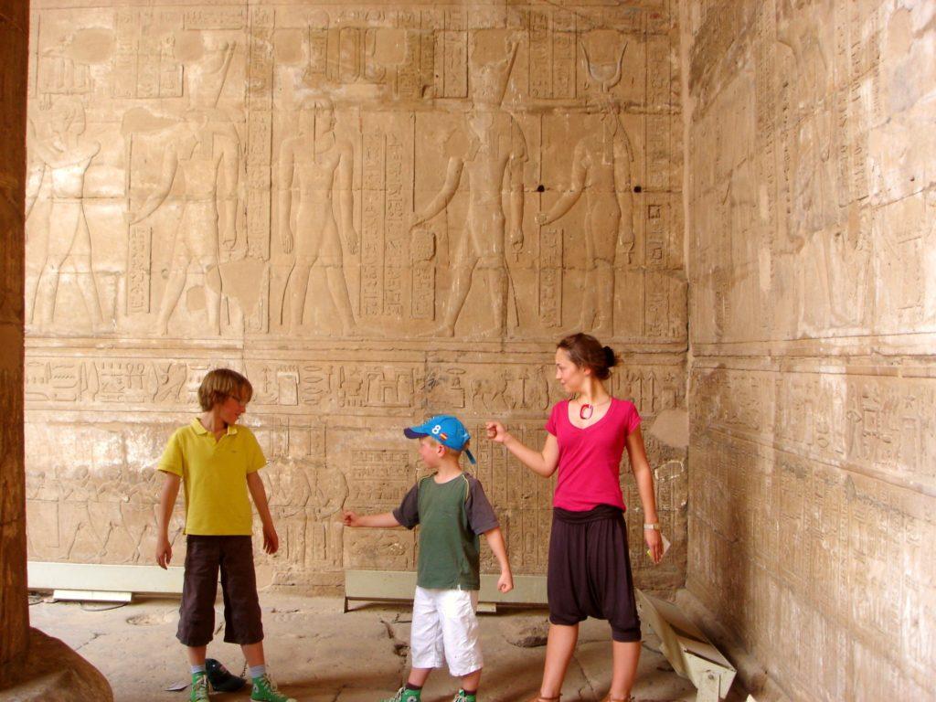 Séjour Égypte I Henry-Michel Tur et la famille Août 2009