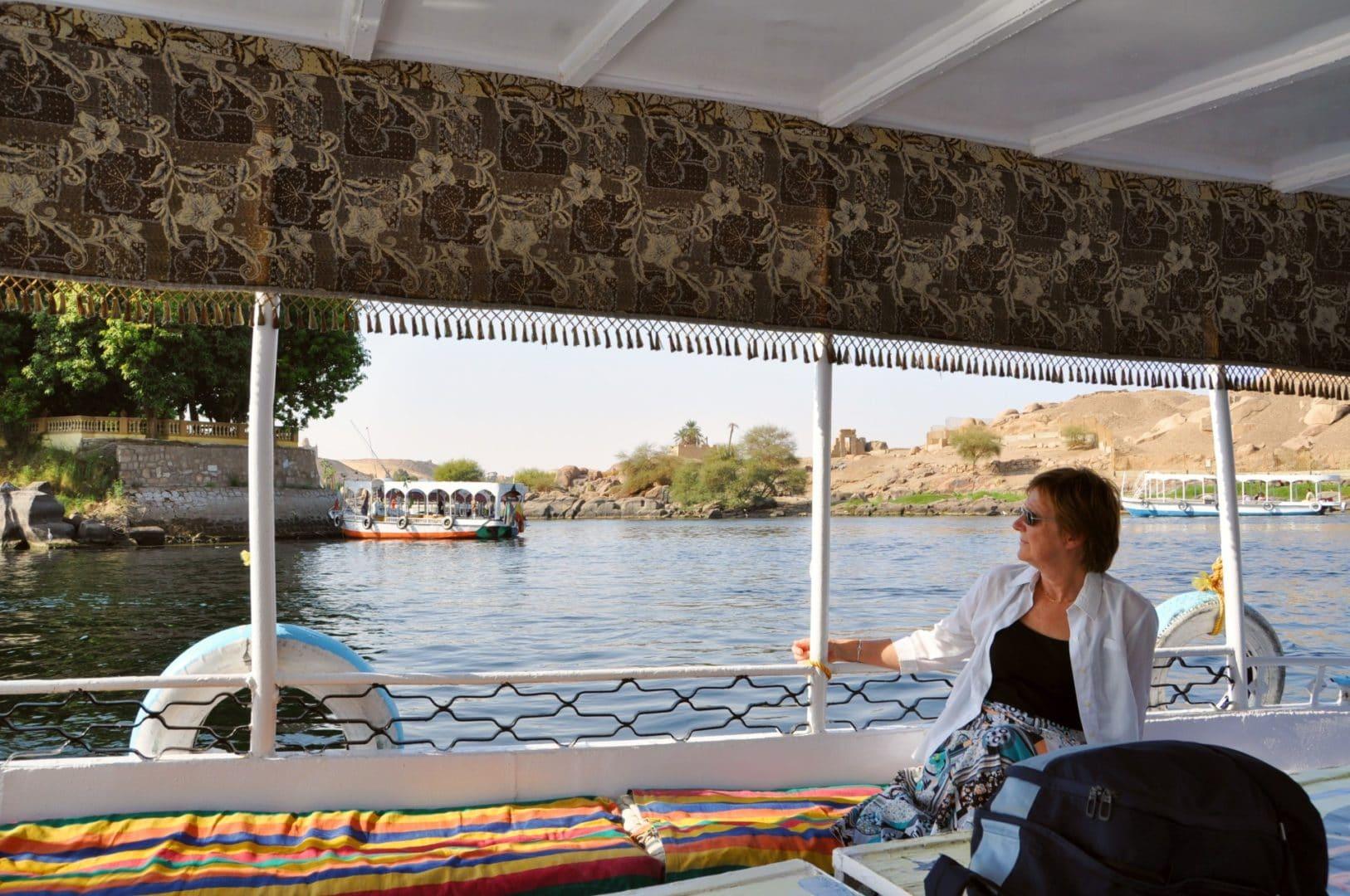 Egypte croisière - Rose-May et Jacque Mangin Janvier 2010