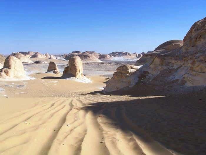 Le Désert Blanc Egypte I Caty, Pierre George & les enfants Novembre 2010.