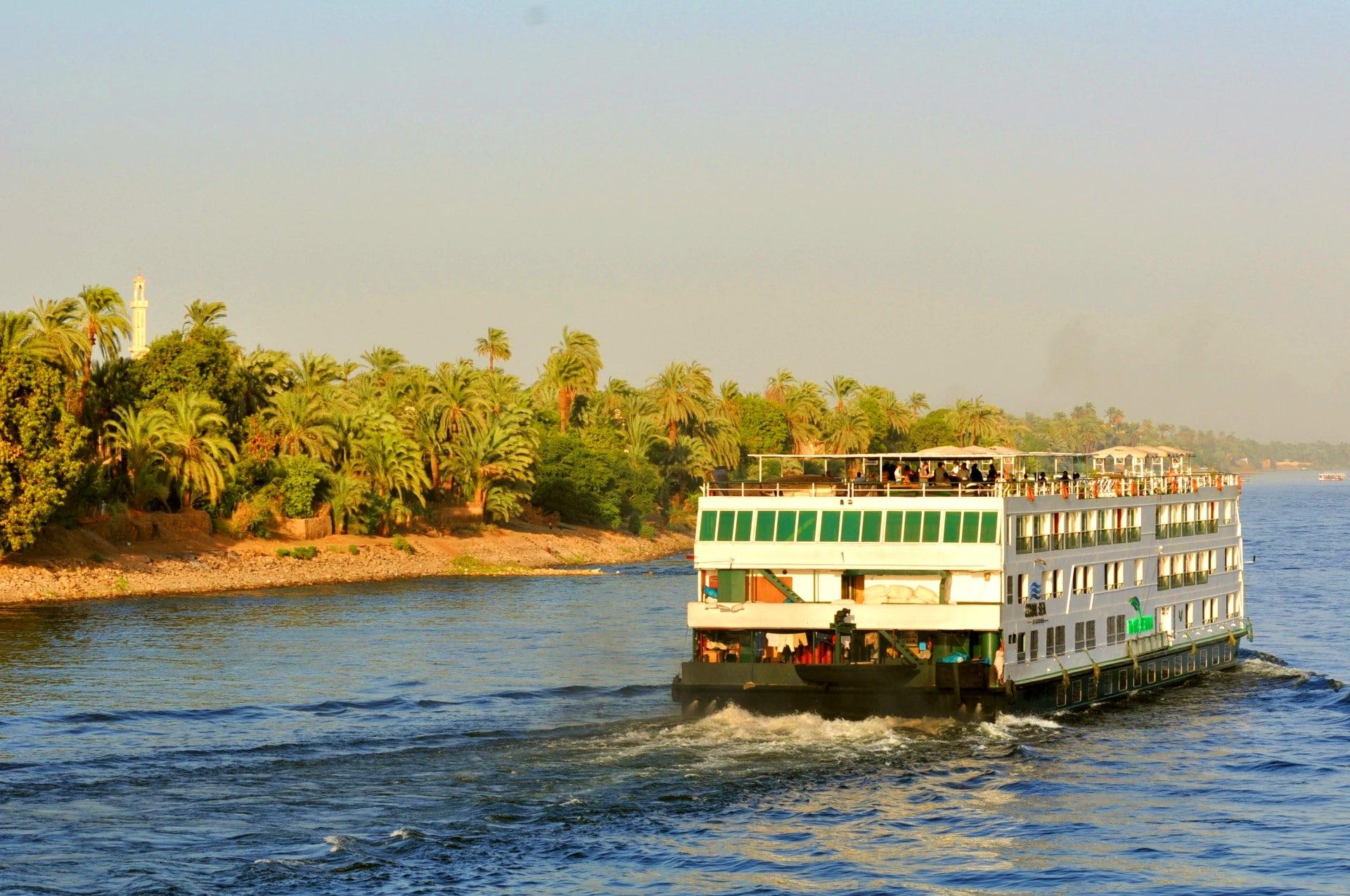 Croisière de luxe sur le Nil en Egypte I Dany et Jean Jacques Janvier 2010