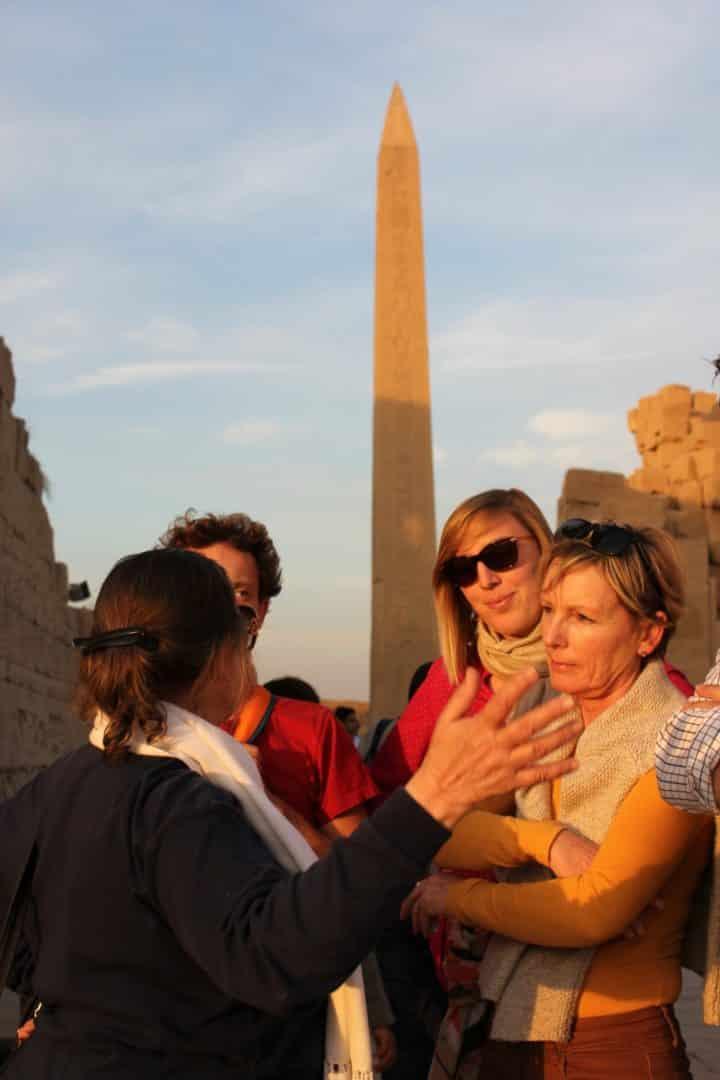 Nous avions prévu de profiter de ce Égypte voyage pour nous retrouver en famille