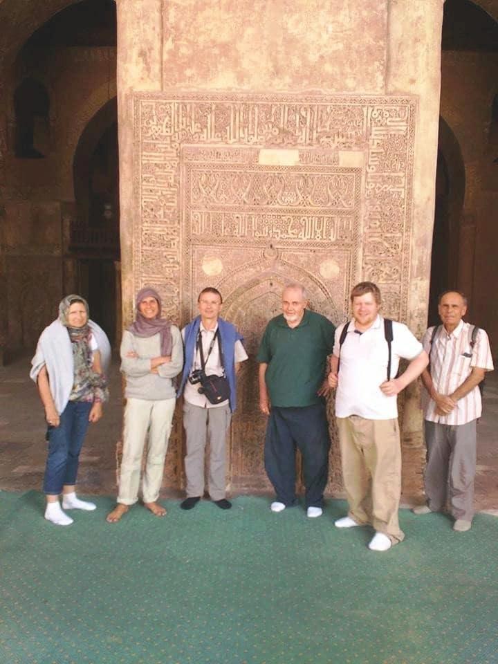 Il a ouvert le circuit Tourisme l'Egypte à d'autres personnes