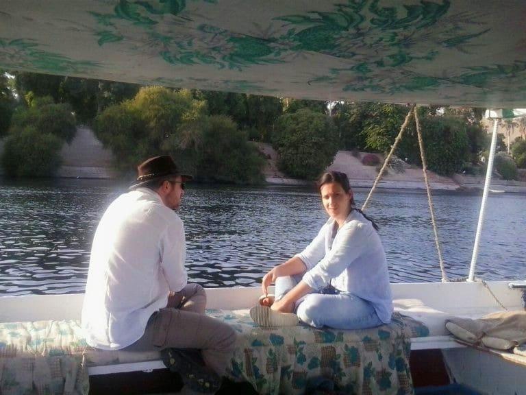 Dès le début de notre projet du tourisme en Egypte