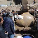 La découverte d'une Statue Colossale de Ramsès II par une équipe d'archéologue égyptiens et allemands