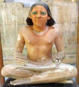 le Scribe dans l'Égypte antique : Découverte du tombeau du scribe royal vieux de 3200 ans.