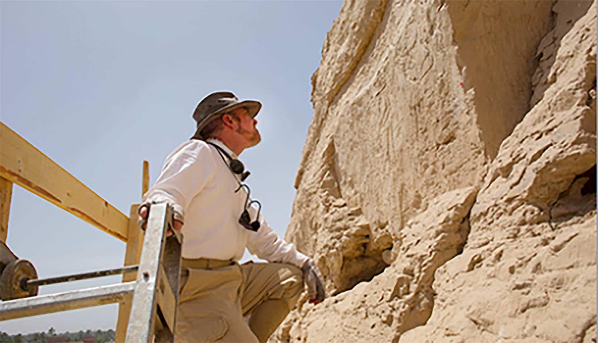 Les chercheurs annoncent la découverte de la falaise aux hiéroglyphes