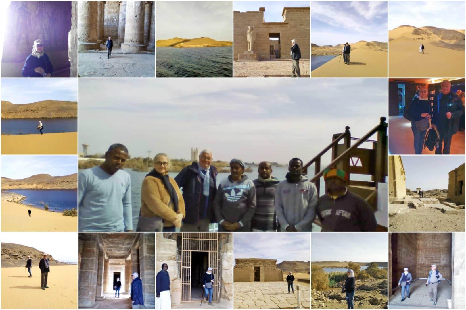 Croisière Egypte petit bateau | Un petit mot vous vous remercier encore (ainsi qu'Ali bien sûr) du très beau voyage