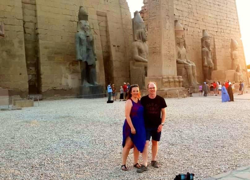 Séjour Egypte Pyramides - Jean et Fabienne Denni : Le Caire et Louxor et la Mer Rouge