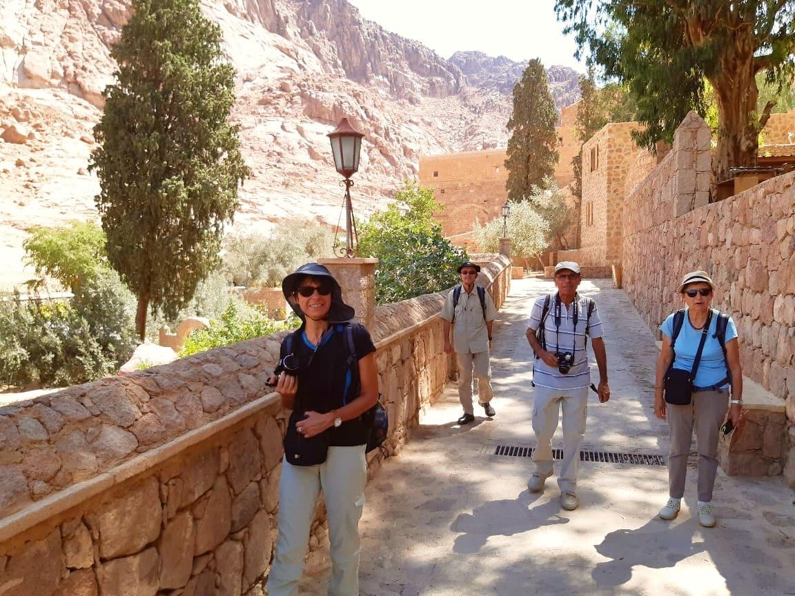 Égypte et Jordanie -Michel et Maryse Arnault et Micher et Sandrine Labidourie Septembre 2019