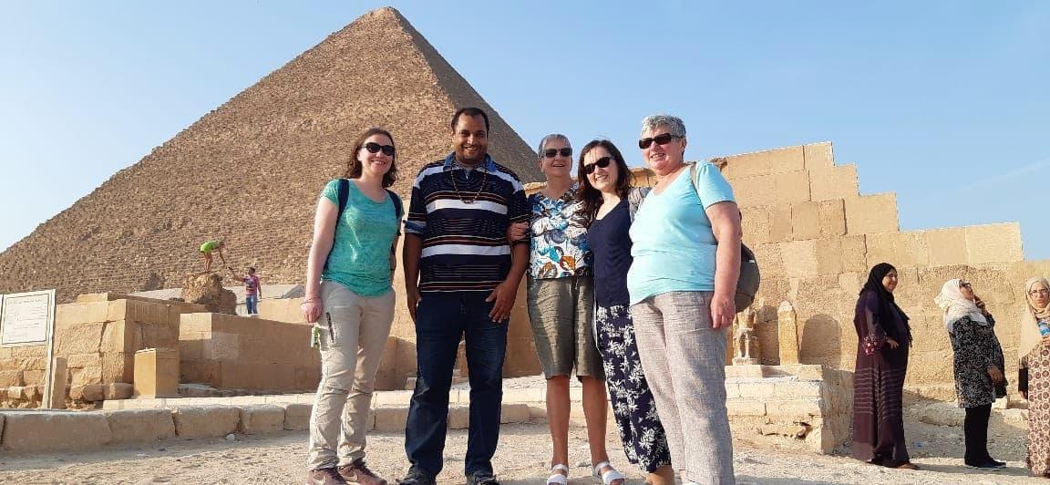 un super séjour en tenant compte de toutes nos demandes (sites, Croisière en dahabeya le Nil,