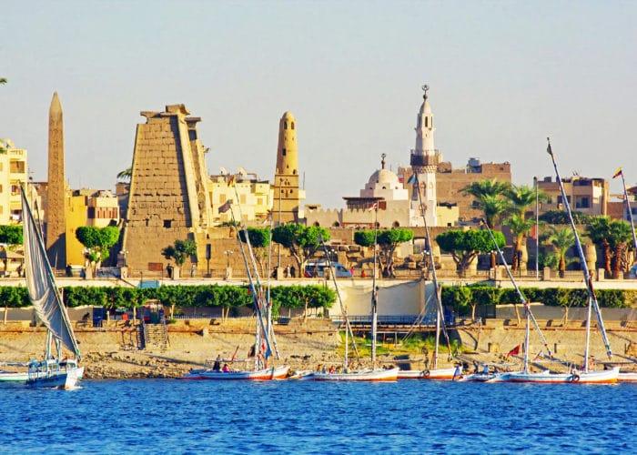 1 A - Page principale - Croisière sur le Nil Egypte
