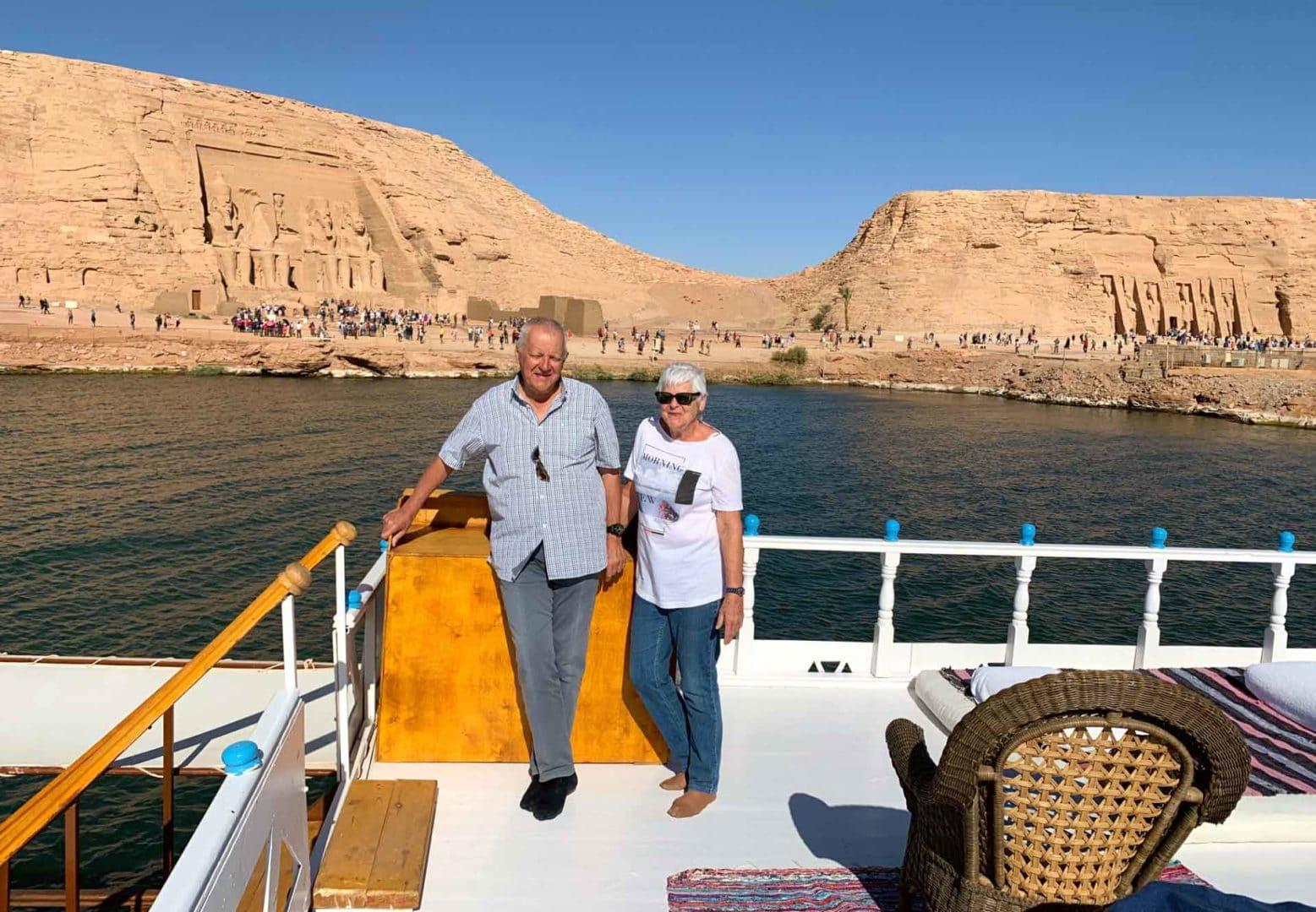 Croisière sur le Lac Nasser en dahabieh