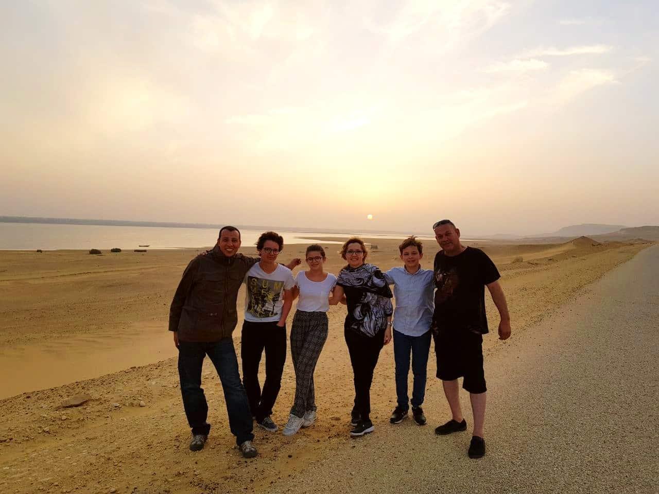 Oasis Fayoum et nuit en bivouac